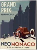 Vintage Car Race Fine-Art Print
