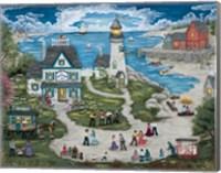 Party at the Lighthouse Inn Fine-Art Print
