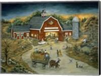 Barn Dance At O'Flannery Farm Fine-Art Print