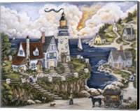 Pelican Point Lighthouse Fine-Art Print