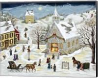 The Children's Christmas Program Fine-Art Print