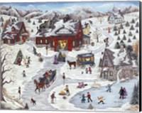 Kringle's Christmas Trees Fine-Art Print