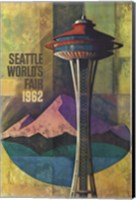 Seattle World's Fair 1962 II Fine-Art Print