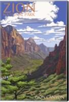 Zion Canyon Fine-Art Print