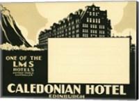 Caledonian Hotel, Edinburg Fine-Art Print