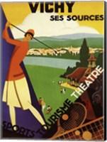 Vichy Ses Sources Fine-Art Print