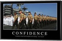 Confidence: Inspirational Quote and Motivational Poster Fine-Art Print
