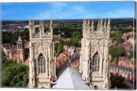 York Minster Cathedral, City of York, North Yorkshire, England Fine-Art Print