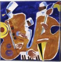 Jazz Collage I Fine-Art Print