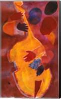 Double Bass, Triple Head Fine-Art Print