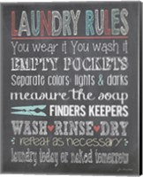 Laundry Rules Fine-Art Print