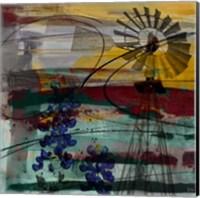 Windmill Abstract Fine-Art Print