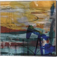 Oil Rig Abstract Fine-Art Print