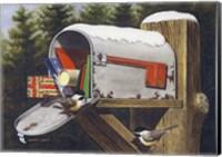 Chickadee's Watch Fine-Art Print
