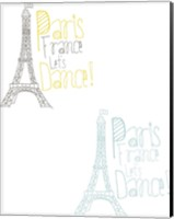 Paris France Let's Dance Fine-Art Print
