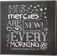 His Mercies Are New Fine-Art Print