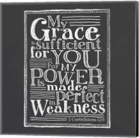 My Grace Is Sufficient Fine-Art Print