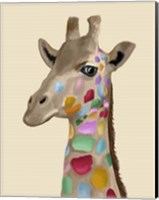 MultiColoured Giraffe Fine-Art Print
