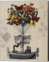 Butterfly Airship Fine-Art Print