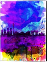 Berlin Watercolor Skyline Fine-Art Print