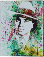 Al Capone Watercolor Fine-Art Print