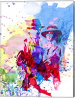 Casablanca Watercolor Fine-Art Print
