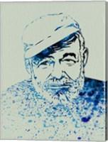 Hemingway Watercolor 1 Fine-Art Print