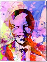 Nelson Mandela Watercolor Fine-Art Print