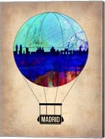 Madrid Air Balloon Fine-Art Print