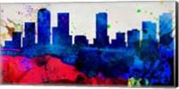 Denver City Skyline Fine-Art Print