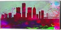 Detroit City Skyline Fine-Art Print