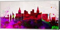 Las Vegas City Skyline Fine-Art Print