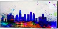 Los Angeles City Skyline Fine-Art Print