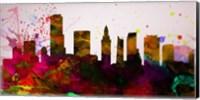 Miami City Skyline Fine-Art Print