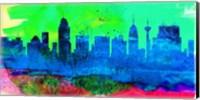 San Antonio City Skyline Fine-Art Print