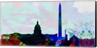 Washington DC City Skyline 2 Fine-Art Print