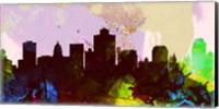 Salt Lake City Skyline Fine-Art Print