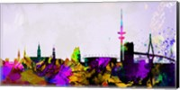 Hamburg City Skyline Fine-Art Print