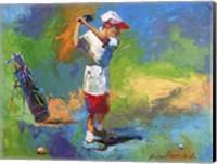 Kid Golf Fine-Art Print