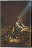 Jesus Kneeling Fine-Art Print