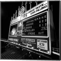 Scoreboard at U.S. Cellular Field, Chicago, Cook County, Illinois Fine-Art Print