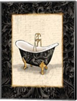 Black Gold Bath Fine-Art Print