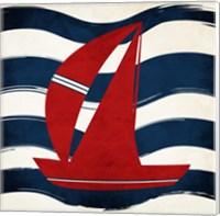 Boat Waves Fine-Art Print