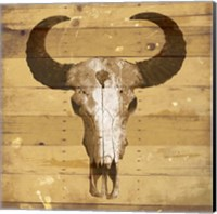 Rustic Bull Fine-Art Print