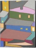 Rooftops in Color IV Fine-Art Print