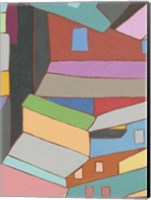 Rooftops in Color VI Fine-Art Print