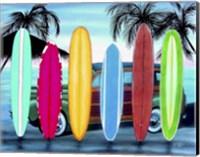 Woody & Surfboards Fine-Art Print