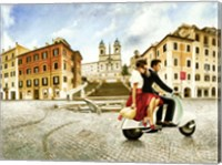 Lovers in Rome Fine-Art Print