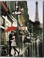 Romance in Paris (Detail) Fine-Art Print