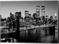Brooklyn Bridge, NYC BW Fine-Art Print